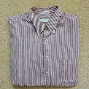 Van Heusen striped dress shirt pocket XXL